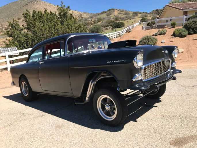 Bangshift Com This 1955 Chevy Gasser Speaks To Us And We