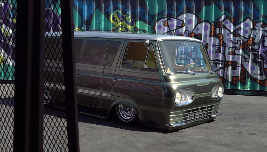 VanGo, This Bitchin 1963 Ford Econoline Van, Was A Hit At The Hoonigan Shop