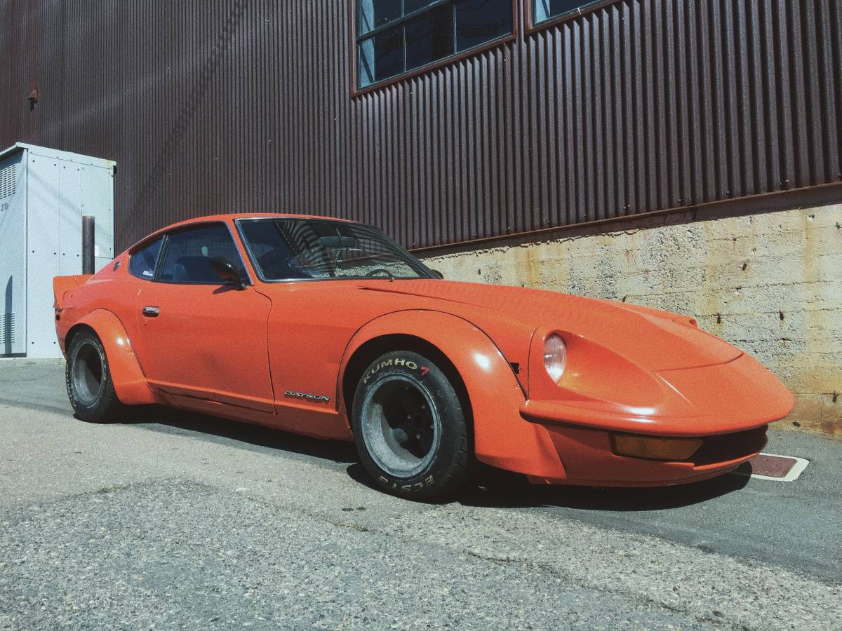 BangShift.com This Wicked 240Z Is So Retro Rad, 13 Inch Magnesium ...