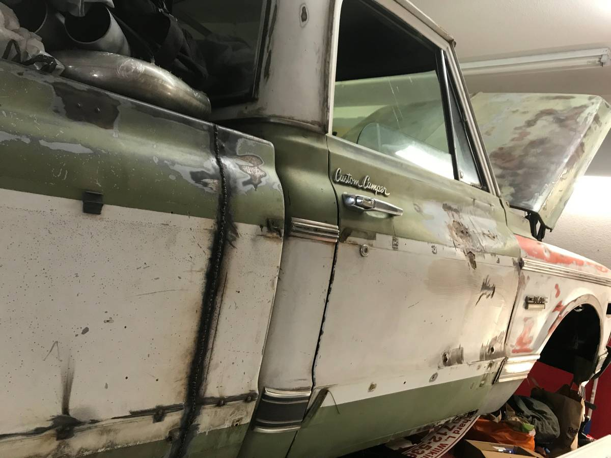 Rough Now, But It Just Might Be Worth The Money – A 1972 Custom Camper GMC C25