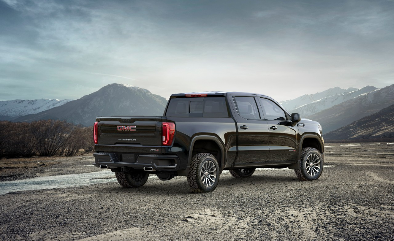 BangShift.com 2019 Sierra AT4 GMC General Motors lift kit ...