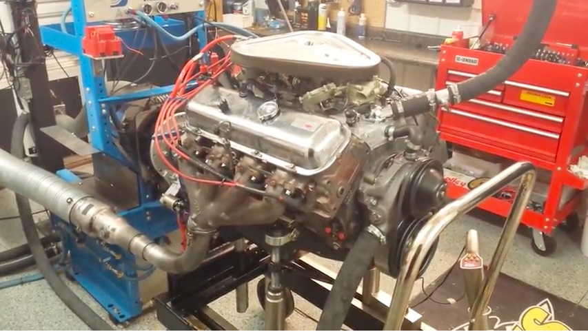 Listen To This 1969 L71 427 Crank Out 500hp With The Factory Air Cleaner And Exhaust Manifolds On