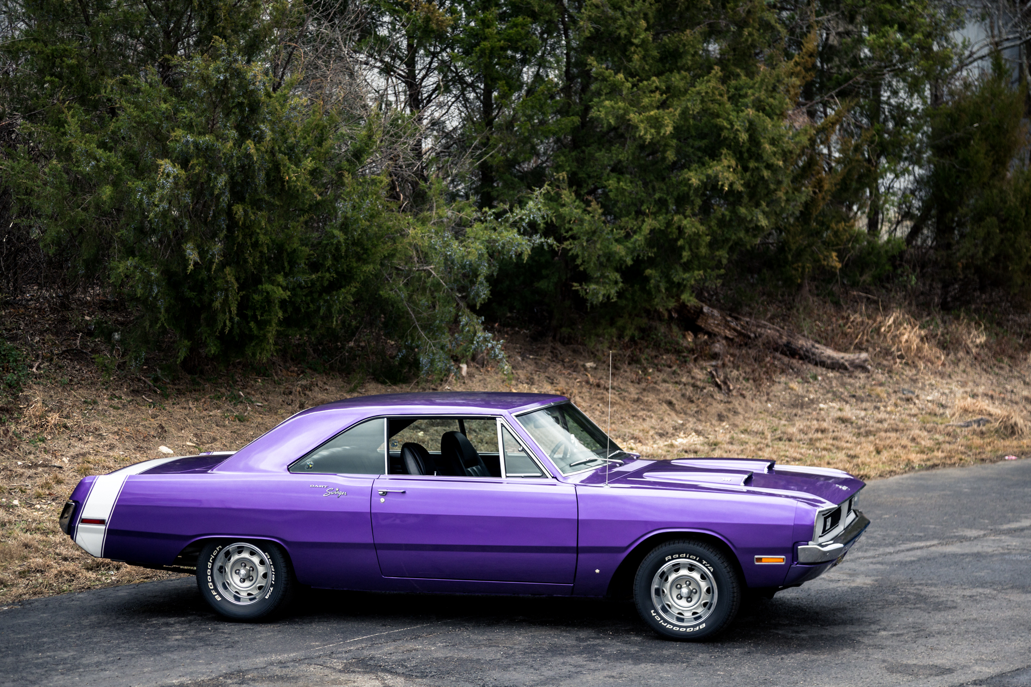 This Plum Crazy 1970 Dodge Dart 340 Swinger Is One Bad Ass Machine That Could Be Yours