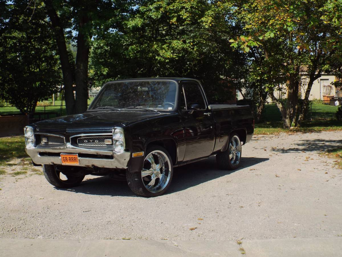 All Chevy chevy 1986 c10 : BangShift.com Love Or Hate? This GTO-Nosed 1986 Chevy Truck ...