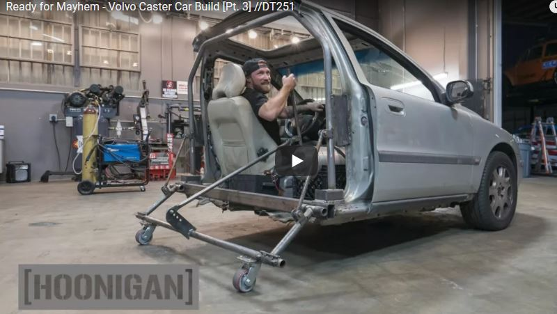 If You Have Missed Any Of The Hoonigan Caster Car Volvo Build, Check It All Out Here