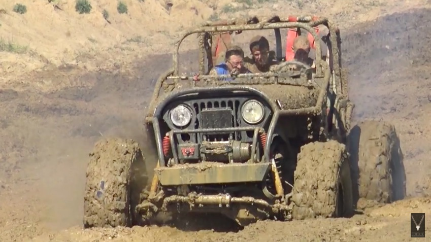 Watch This Jeep Explode A Clutch In The Mud And See The Wake Of Destruction