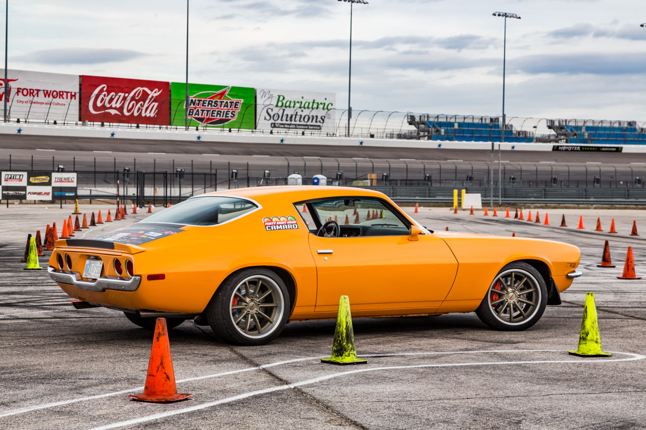 RideTech's 48-Hour Camaro Hits The Autocross!
