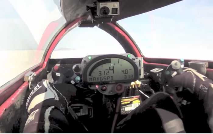 Video: Valerie Thompson Crashes Motorcycle Streamliner At 343 MPH And Walks Away