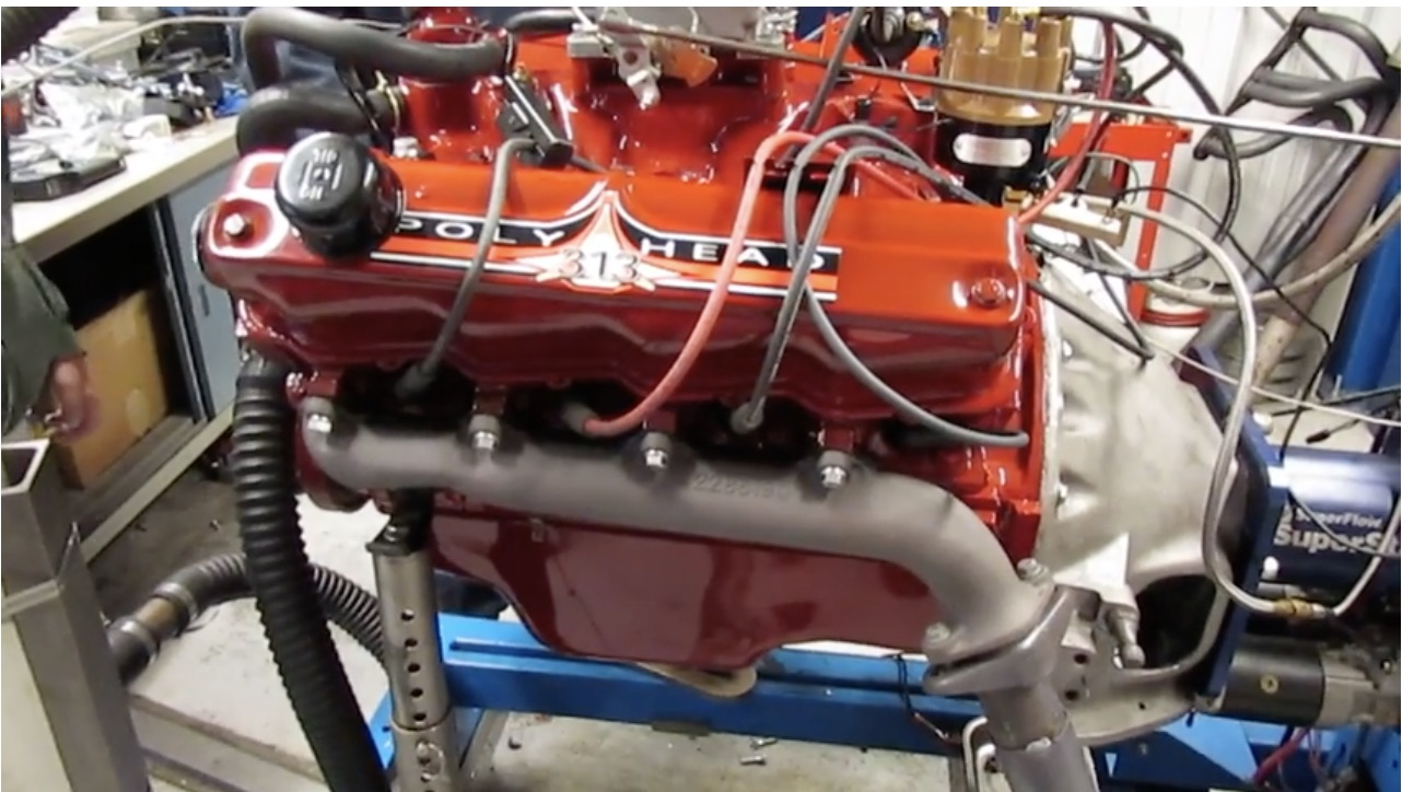 Happy 3/13! Check Out This Export-Only Chrysler 313 A-block As It Sings On The Dyno!