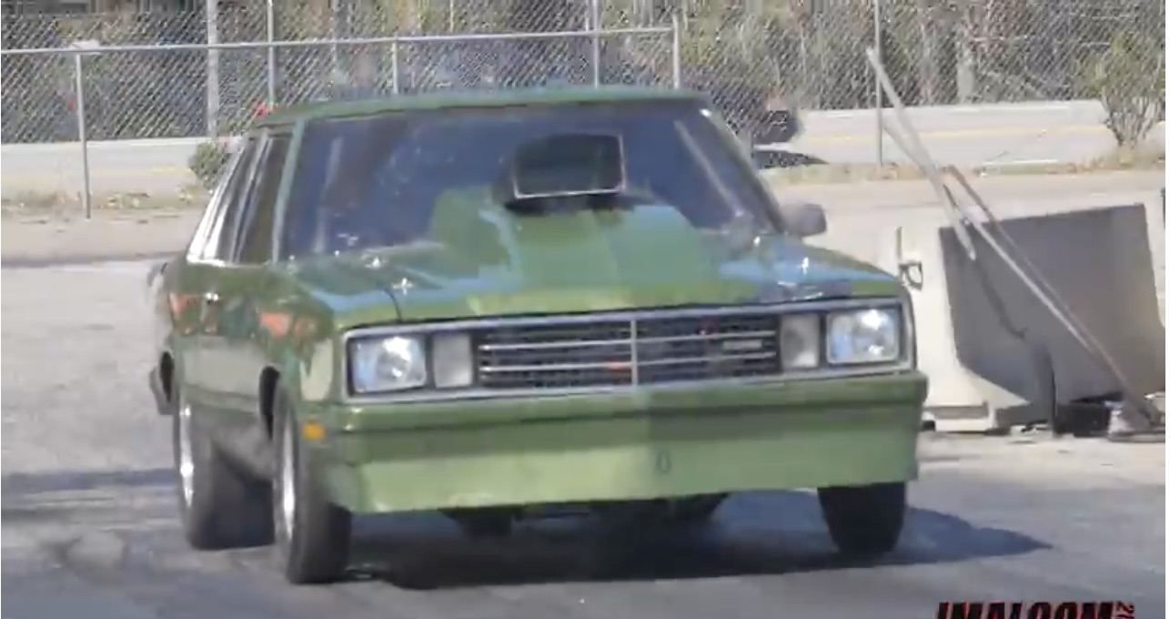 "All Ford, Baby! This Mean Green Fairmont Flies In The Face Of The ""LS The World"" Movement!"