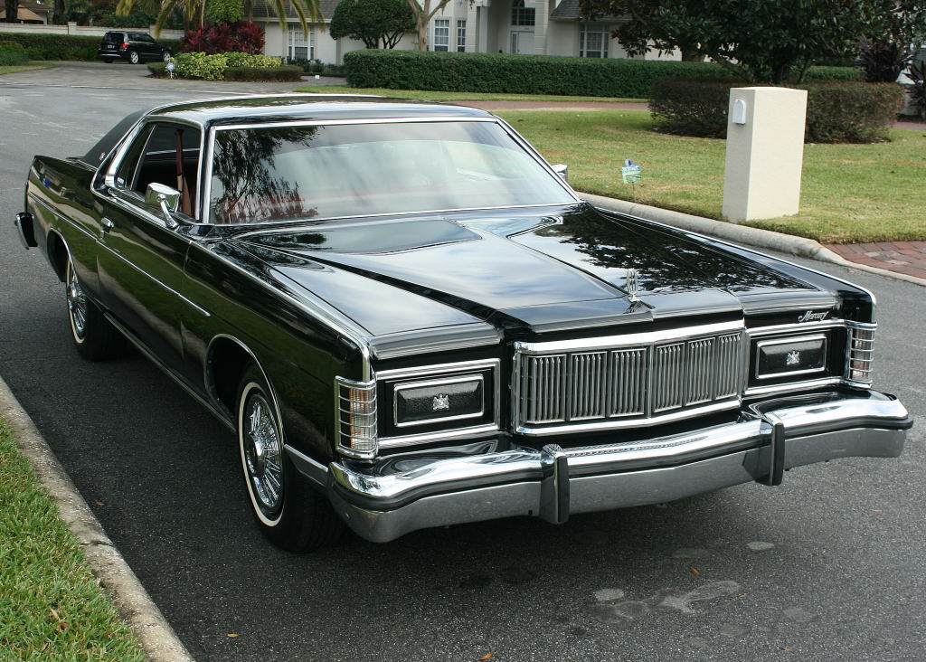 How Would You Build It: This 1978 Mercury Grand Marquis Is Another Big Black Sled Coupe That's In Great Condition To Start With, But It Needs More…