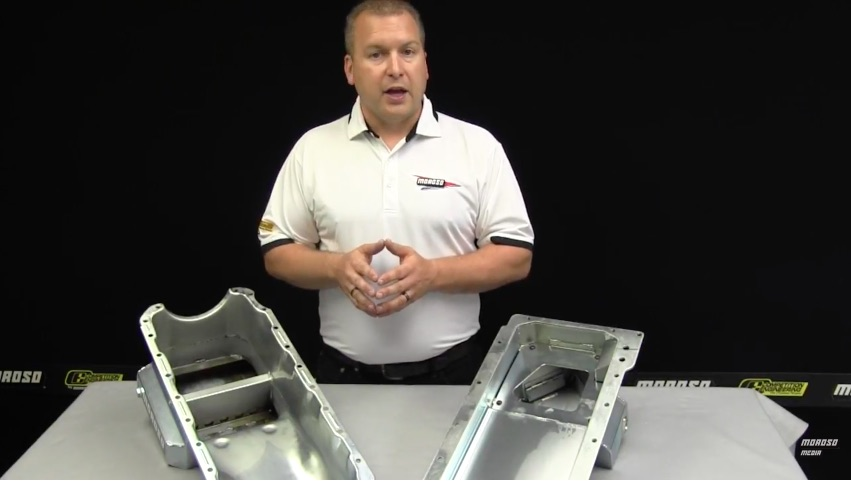 Moroso Tech Video: Here's The Theory And Practice Of Oil Pan Trap Door Baffling