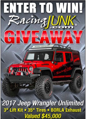 Wanna Win A Jeep? Get In On The RacingJunk.com Wrangler Giveaway! It