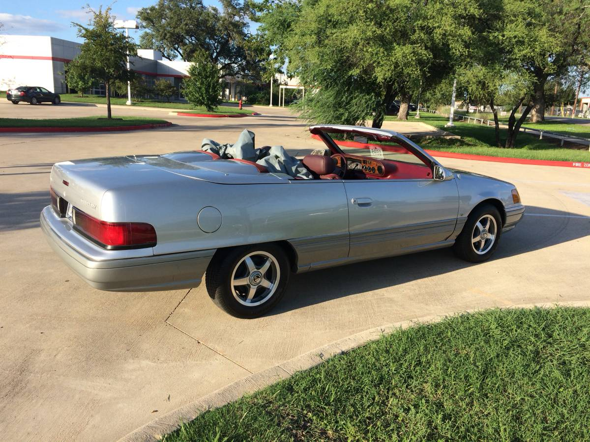 Truly A One Of One, This 1989 Mercury Sable Convertible Is Interesting, But Is it Good?