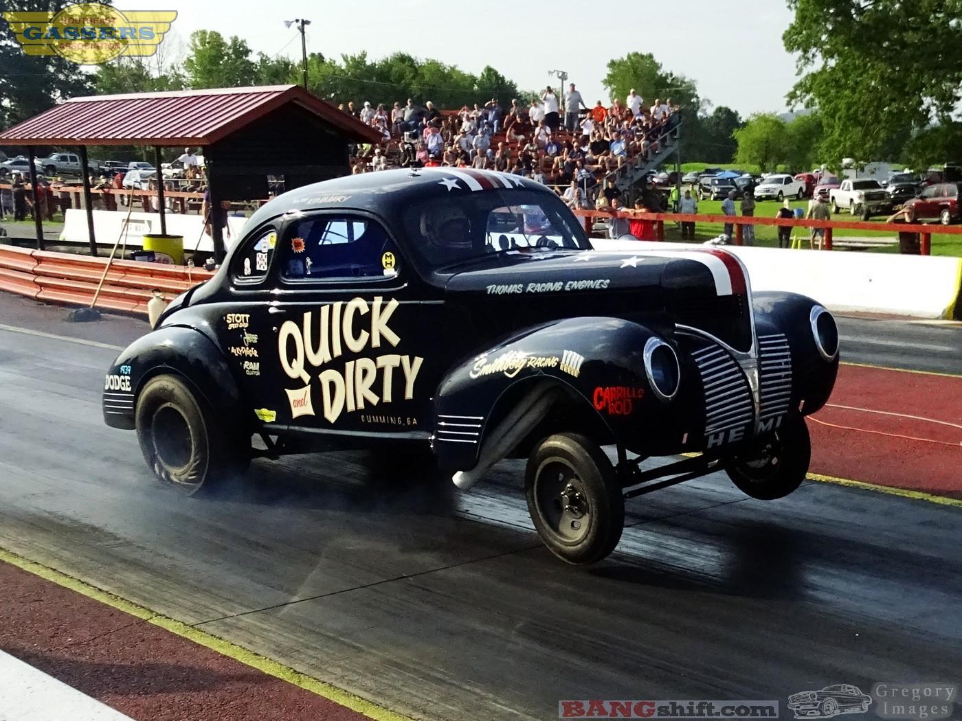 BangShift com Southeast Gassers Photo Action Kentucky drag racing