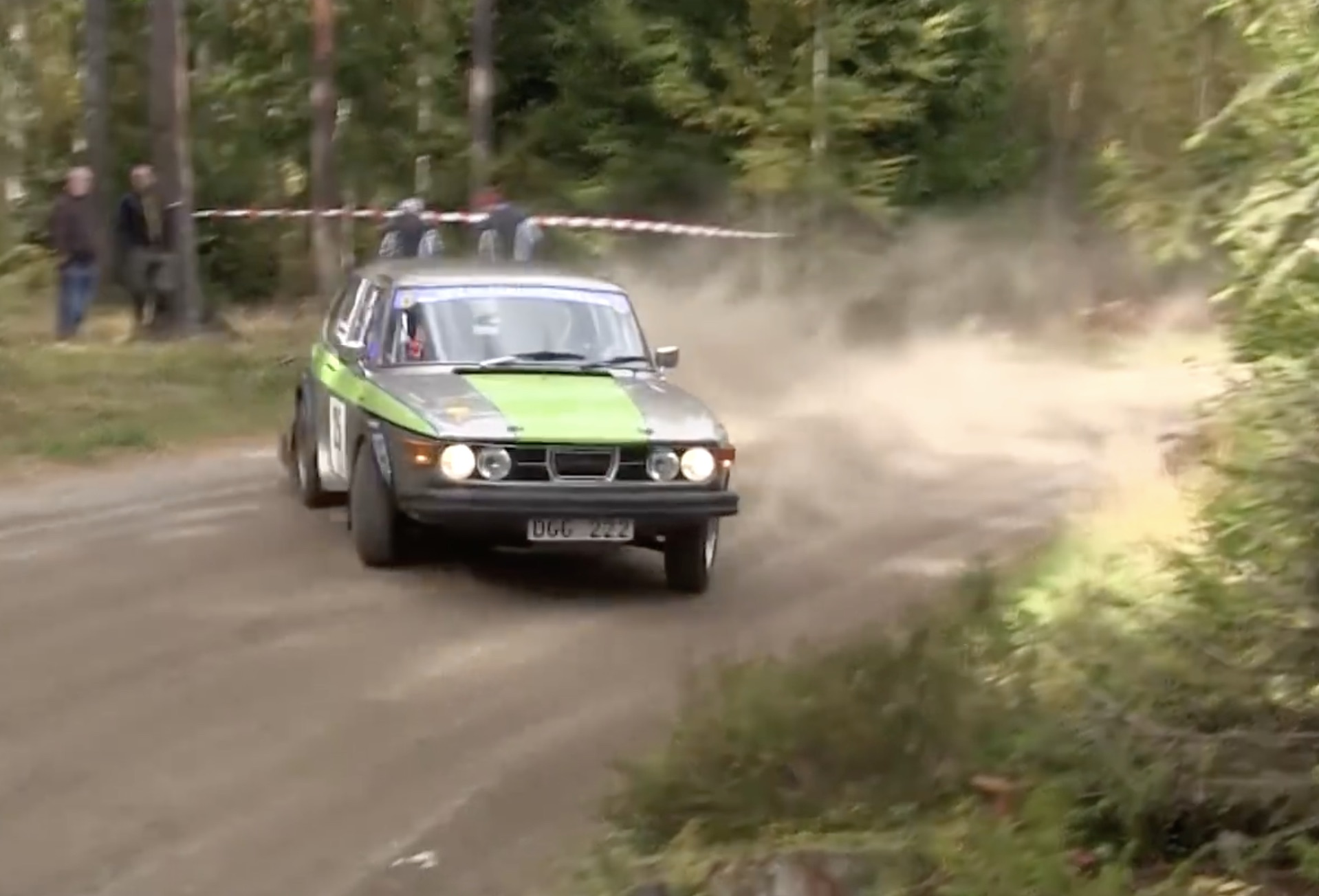 BangShift.com Morning Symphony: Old-School Rally Cars In Sweden ...