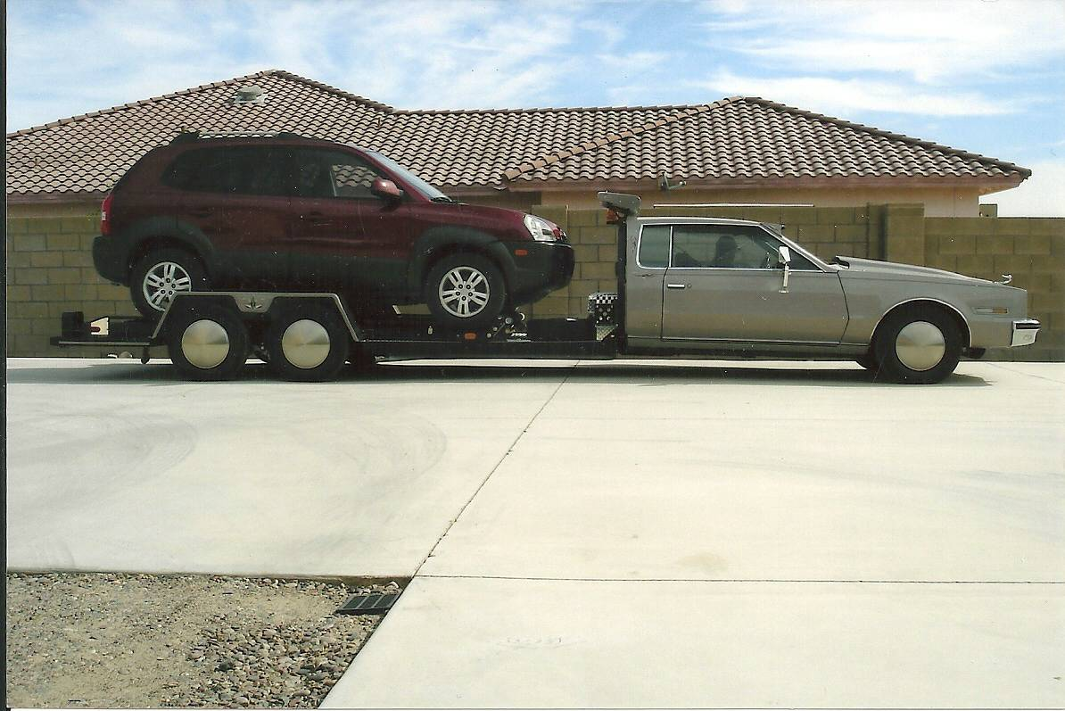Front Wheel Drive Hauler : Bangshift luxury race transport redefined this