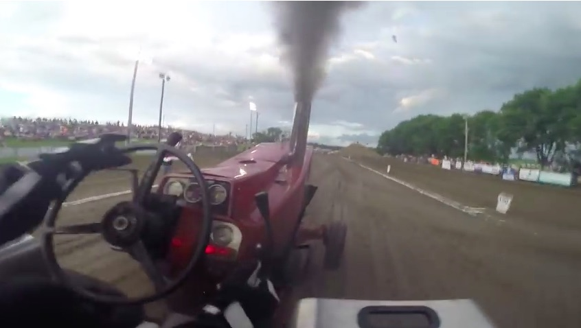 Don't Think It Would Be Fun To Drive A Pulling Tractor? This Video Will Change Your Mind