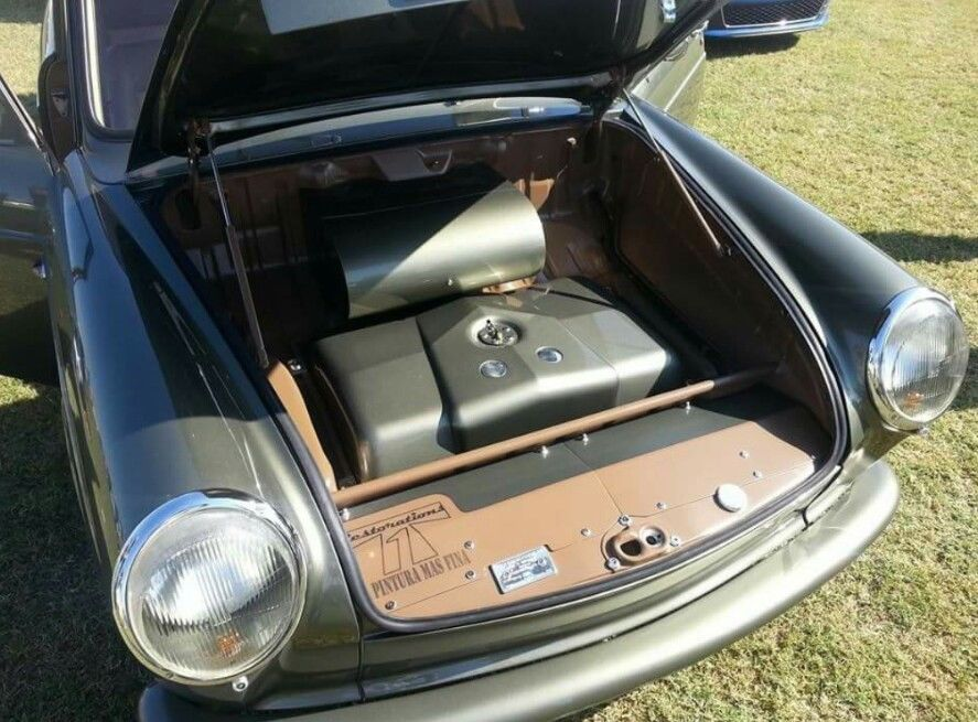 BangShift com VW Type 3 Notchback Has A Porsche Six Cylinder