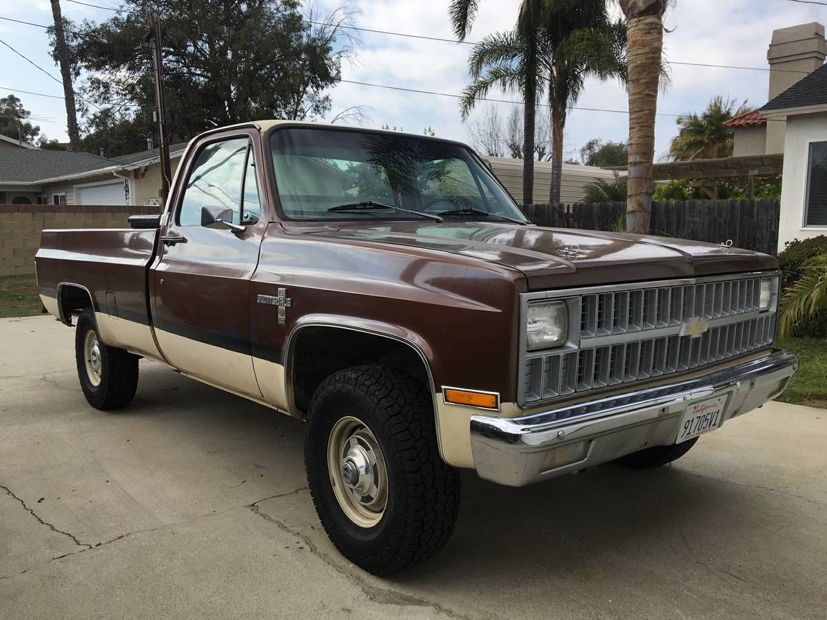 This Grandpa Fresh 1981 K20 Scottsdale Chevy Truck Is Almost Too Cool To Mess WithAlmost