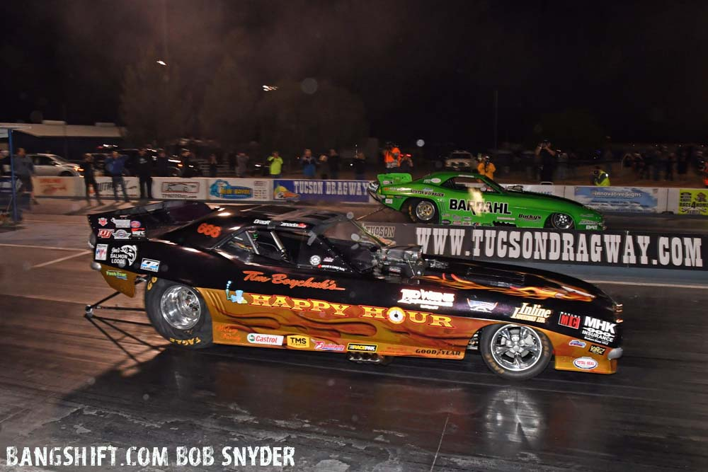 Track Records And UNFC Nitro Funny Car Championship Flames At Tucson Dragway Reunion!