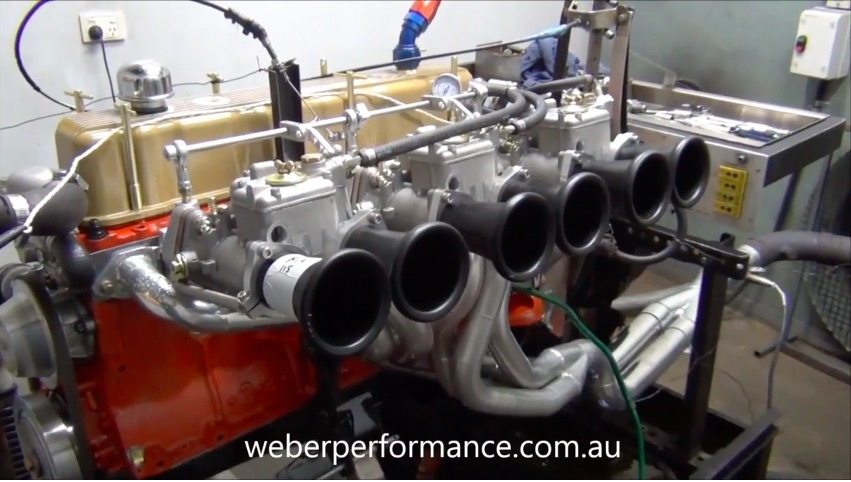 Listen To This 202ci Holden Red Inline Six Scream Out More Than Twice It's Stock Horsepower Naturally Aspirated