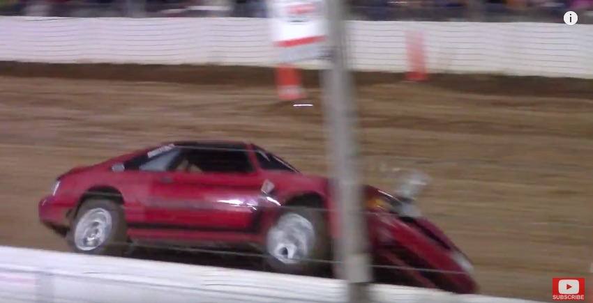 Video: A Mustang, A Firebird, and An RV Walk Into A Tuff Truck Competition And All Race!