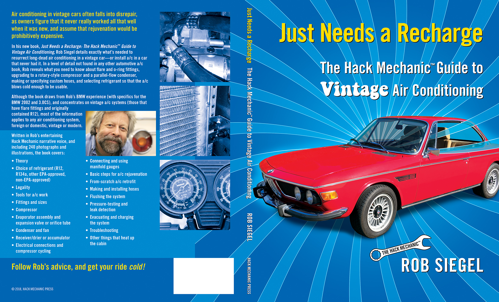BOOK REVIEW: Just Needs A Recharge – The Hack Mechanic's Guide to Vintage AC