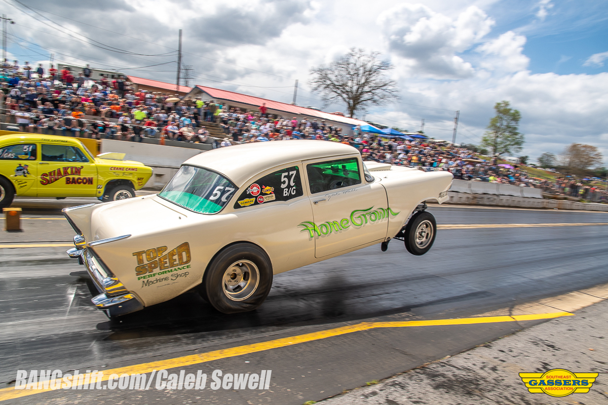 The Southeast Gassers Association Invades Shadyside Dragway!