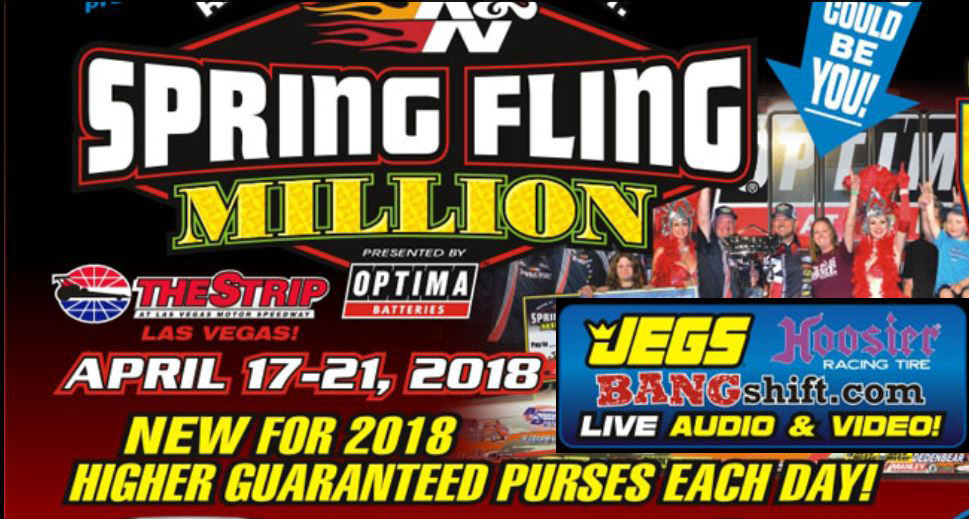 BANGshift's LIVE Streaming Video From The Spring Fling Million In Vegas Starts Wednesday Around Noon!