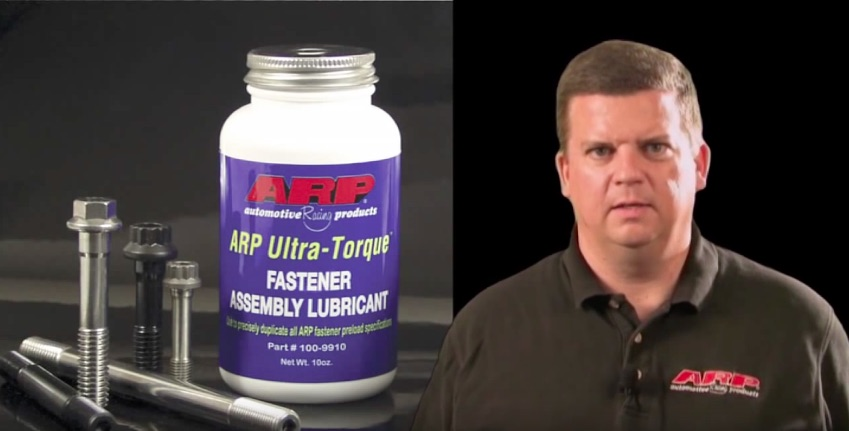 Why Do You Need To Use ARP Ultra-Torque Fastener Assembly Lubricant? This Video Tells The Story