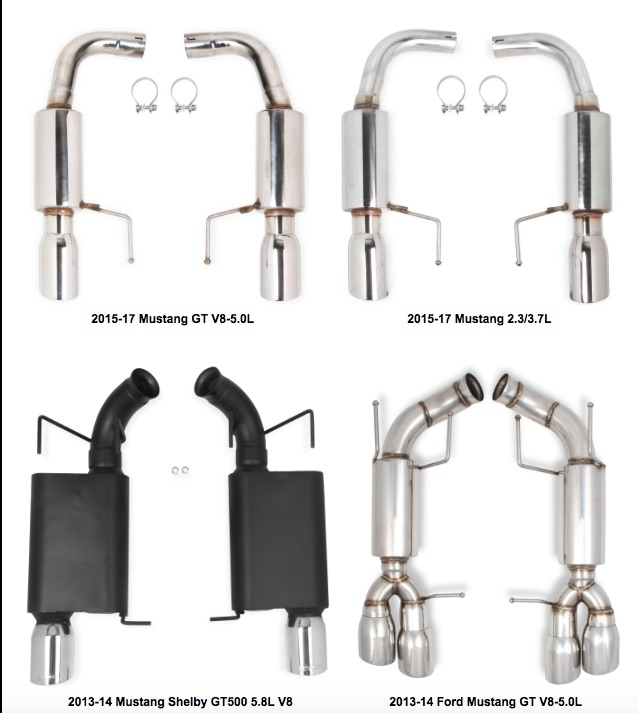 Flowtech Adds Eight New Axle-Back Exhaust Systems To Their Lineup
