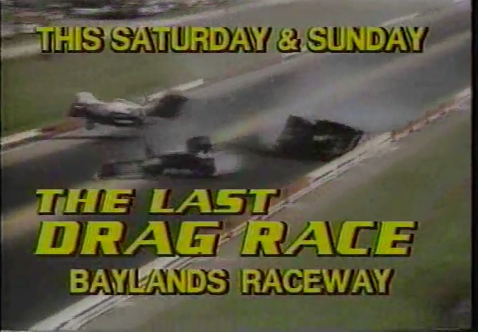 Video: 30 Years Ago This Year Baylands Raceway Park (Fremont Raceway) Closed For Good