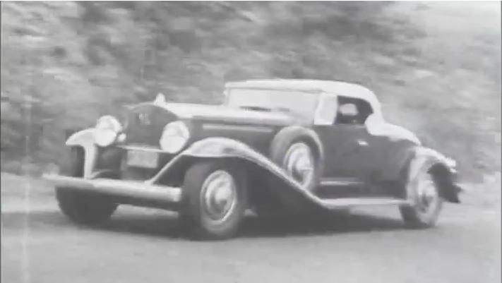 Video: Watch A 1924 Doble E Steam Car Tear Down The Road And Hit The Trails