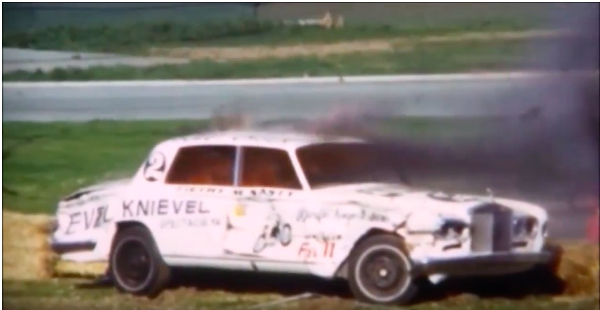 Video: An Evel Knievel Jump And The World's Richest Demolition Derby – Great Footage From 1973