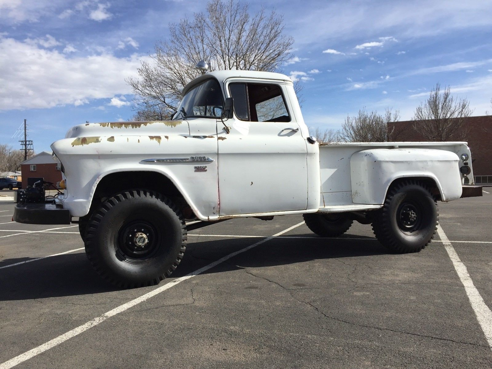 This 3/4 Ton 1955 Chevy Truck Has A 283, NAPCO Four Wheel Drive, and A Timeless Look