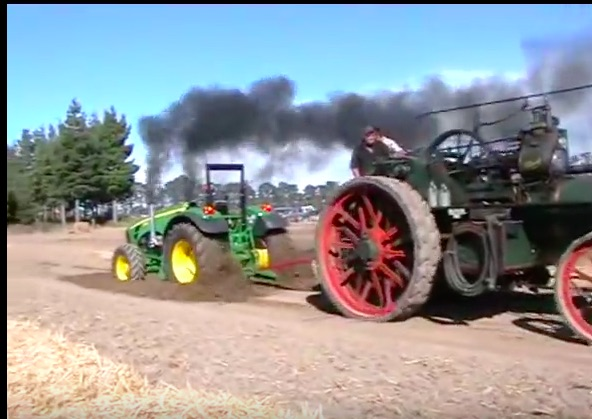 Chugga Chugga Tug Of Wars: These Videos Of Steam Tractors Applying Their Grunt Are Awesome