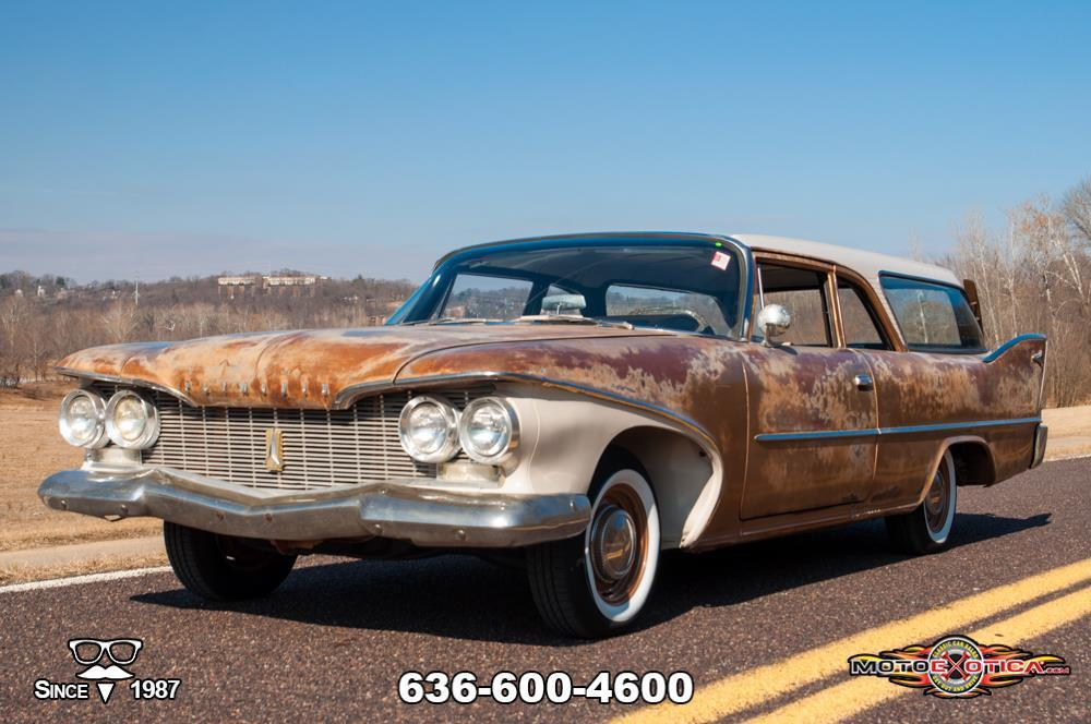 Cool AND Creepy? Yeah, This 1960 Plymouth Deluxe Suburban Station Wagon Is Both