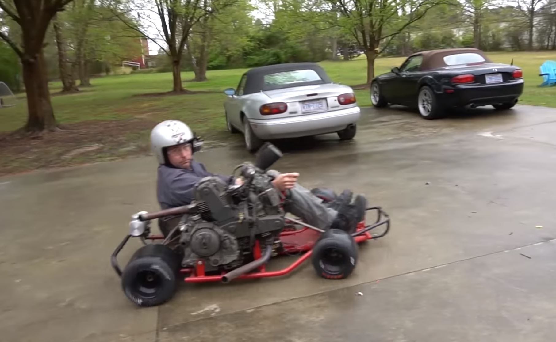 Best of 2019: This 900cc Ducati Powered Shifter Kart Is Perhaps The Deadliest And Most Fun Thing Ever