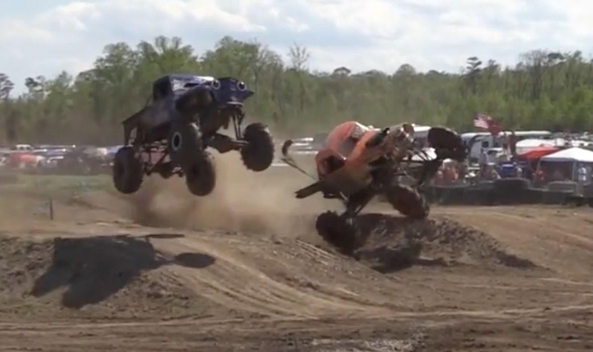 Going For Broken: Mega Trucks Taking Flight At The Spring Sling!