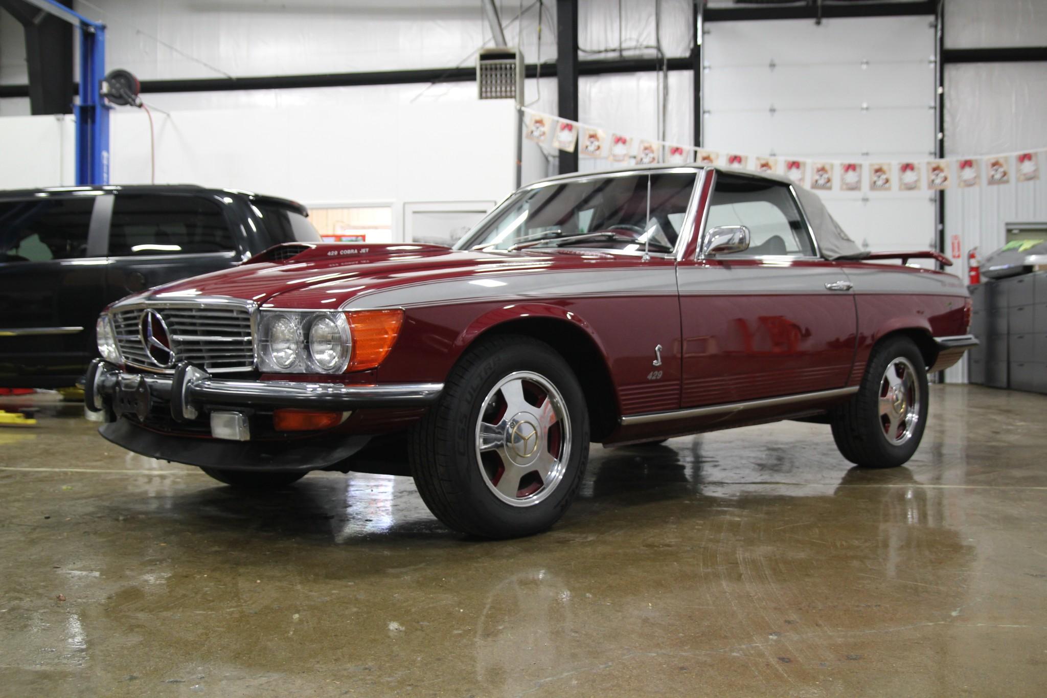 BangShift Cobra Benz This 1973 Mercedes Benz 450SL Is Now A 429