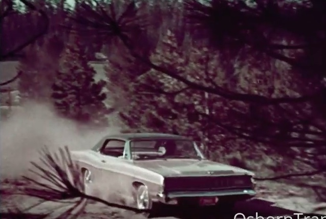 This 1968 Ford Commercial Promoting Their Big Car Lineup Is Awesome! (Why Are They In The Woods?)
