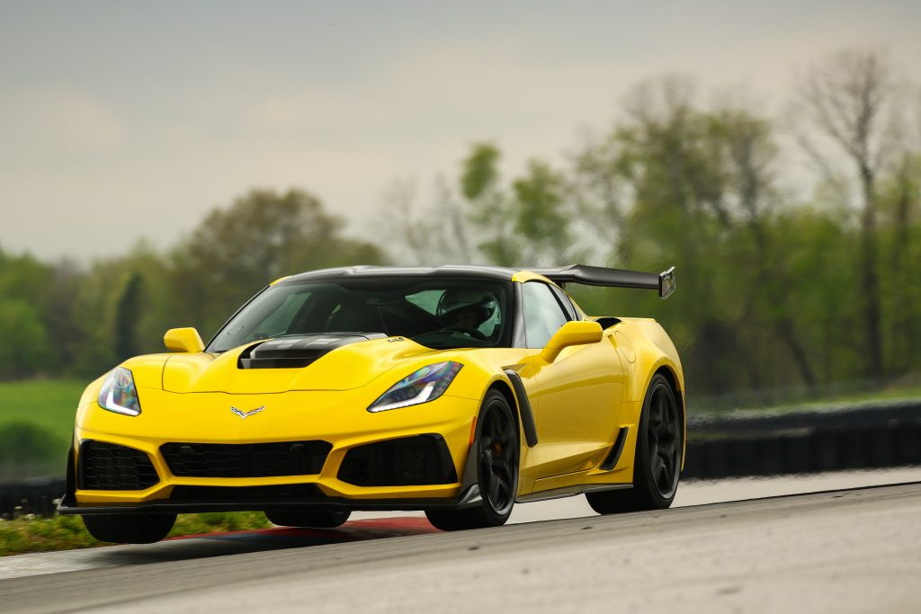 The 2019 Chevrolet Corvette ZR-1 Set The Lap Standard At NCM Motorsports Park: 2:05.59!