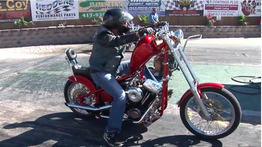 The American Powertrain Parting Shift: Awesome, Hand Shifted, Hot Rod Chopper Drag Racing Edition!