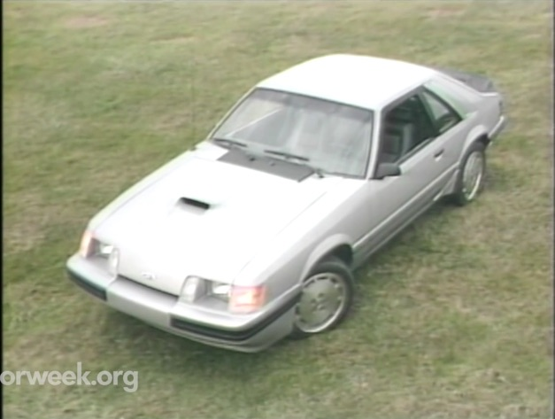 In 1984 The Mustang SVO Provided A Glimpse In The Turbocharged Future