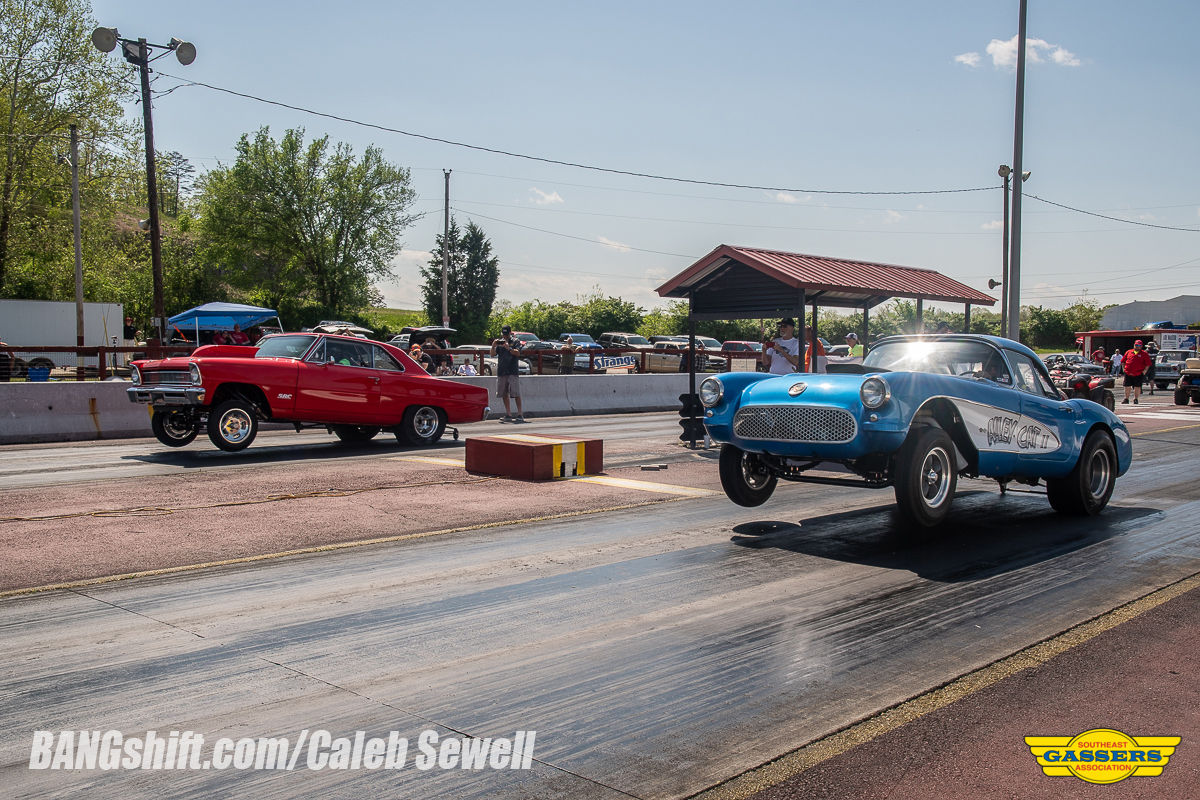 The Southeast Gassers Association Invades Mountain Park Dragway In Kentucky