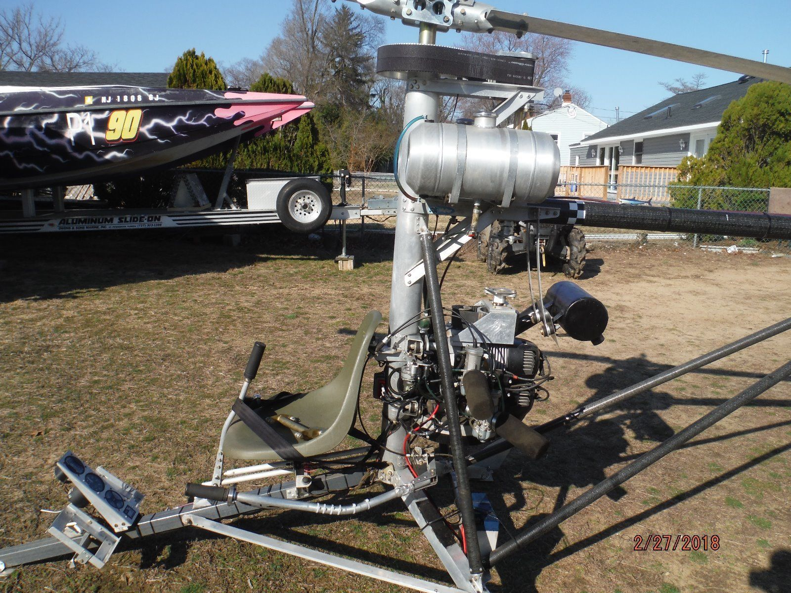 BangShift.com Mosquito Ultralight Helicopter Could Be Your Jam eBay on