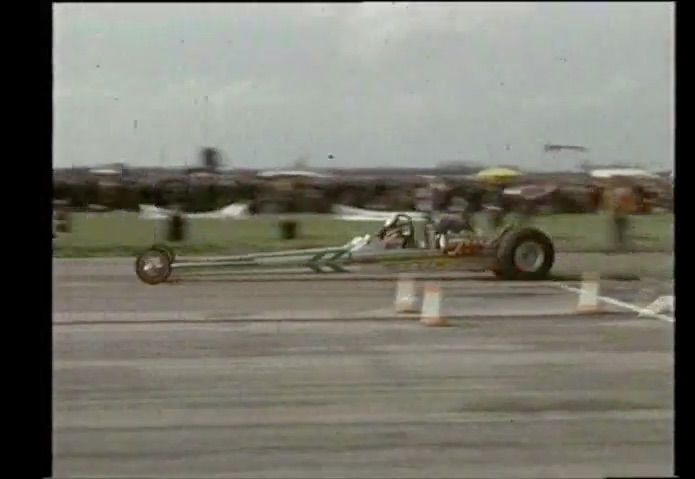 Want To See Real No Prep? Top Fuel Dragsters On A Bare RAF Runway In England At Fulbeck Circa 1973