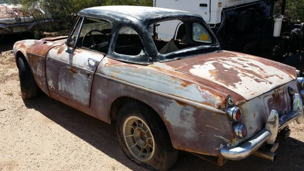BangShift com 1967 Datsun 1600 Roadster Is A Rusty But Awesome Canvas