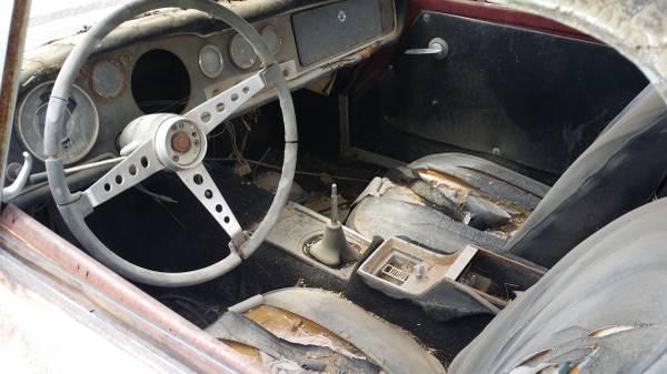 BangShift com 1967 Datsun 1600 Roadster Is A Rusty But
